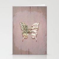 denver Stationery Cards featuring denver butterfly by Steffi Louis