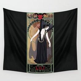 Dark Lili Nouveau - Legend Wall Tapestry