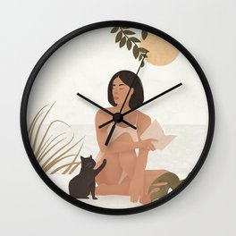 Let yourself move to the next chapter of your life Wall Clock
