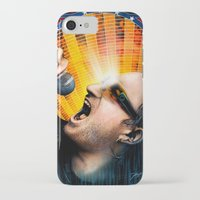 u2 iPhone & iPod Cases featuring Bono from U2 by Storm Media