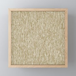 Fiber Pattern Framed Mini Art Print