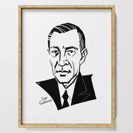 Sergei Rachmaninoff Serving Tray