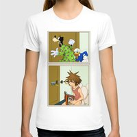 kingdom hearts T-shirts featuring KINGDOM HEARTS: WINNIE THE POOP   by Gianluca Floris