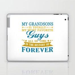 Grandsons Forever Laptop & iPad Skin