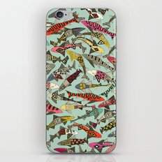 shark party summer iPhone & iPod Skin