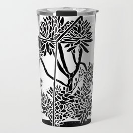 Terrarium Block Print Travel Mug