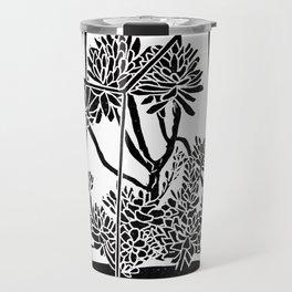 Terrarium Block Print Travel Mug