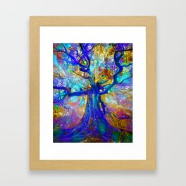 Jewel Forest Framed Art Print