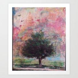 Beautiful tree on a Sailor Take Warning morning Art Print