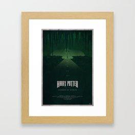 The Chamber of Secrets Framed Art Print