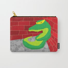 Upset Crocodile Carry-All Pouch