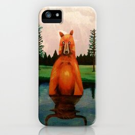 unbearabull market iPhone Case