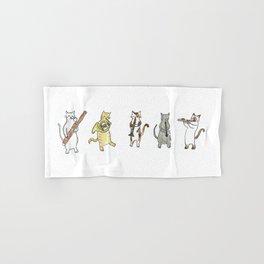 Meowtet Hand & Bath Towel