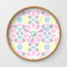 Arabesque CMYK Wall Clock