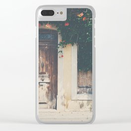 home ... Clear iPhone Case