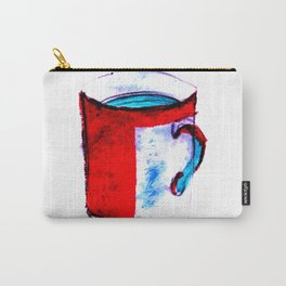 big coffee cup Carry-All Pouch