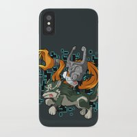 invader zim iPhone & iPod Cases featuring Invader Midna by HelloTwinsies