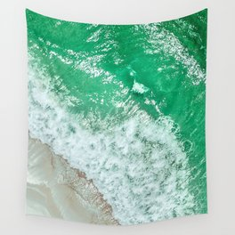 Emerald Sea Wall Tapestry