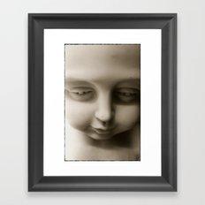 I'm Sorry Framed Art Print