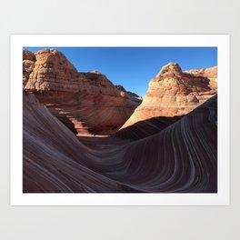 The Wave, Arizona Art Print
