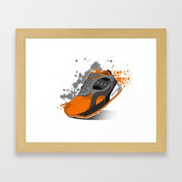 1. Sock-A-Knee (Q1-2019 Collection) Framed Art Print