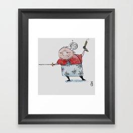 Gran Framed Art Print