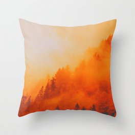 ON FIRE Throw Pillow