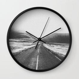 ON THE ROAD XVII Wall Clock