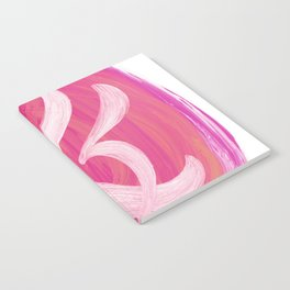 Thick Swirl Ampersand Warm Notebook