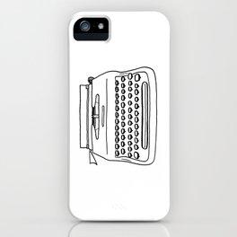 'Typewriter' iPhone Case