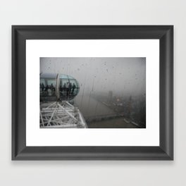 London Rain Framed Art Print