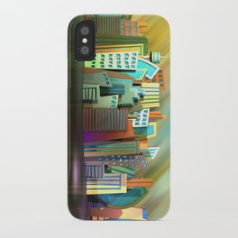 City of Color iPhone Case