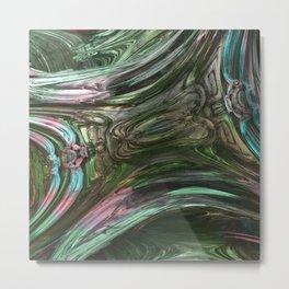 Distortion Mirror Metal Print