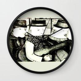 Three Musicians Wall Clock