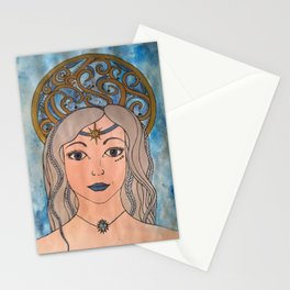 Keeper of the night sky Stationery Cards