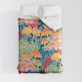 Fungi World (Mushroom world) - BKBG Comforters