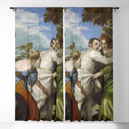 "Veronese (Paolo Caliari) ""Allegory of Virtue and Vice or The Choice Between Virtue and Vice"" Blackout Curtain"