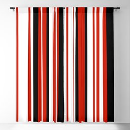 Stylish Minimal Art Lines 08B Blackout Curtain