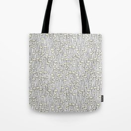Enokitake Mushrooms (pattern) Tote Bag