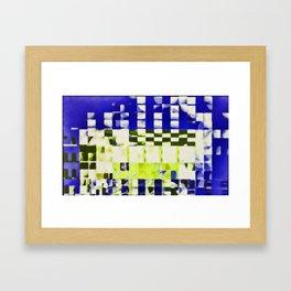 fragmented dream #12 Framed Art Print