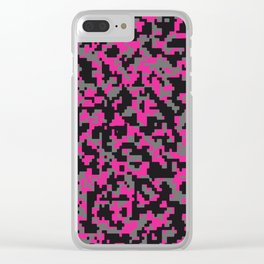 Hello Color v8 Clear iPhone Case