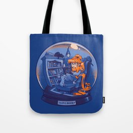 I Love Books and Cats Tote Bag