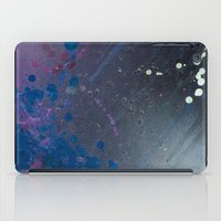 depression iPad Cases featuring Depression Rains by Shy Neon