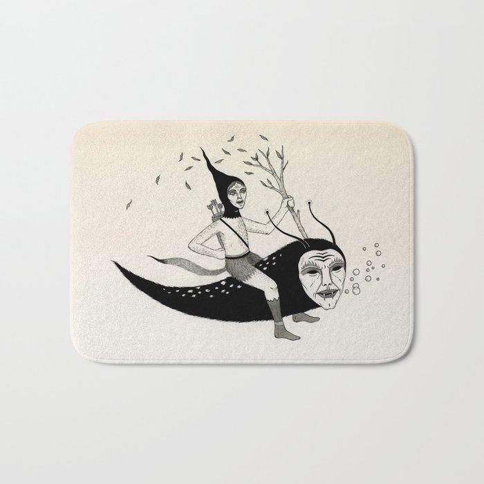 Joyous Flight Bath Mat