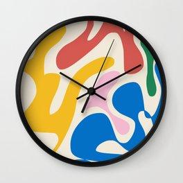 Community abstract Wall Clock