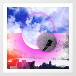 mile high sky no. 14 Art Print