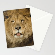 Face of a Lion Stationery Cards