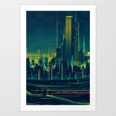 The Broadview Art Print