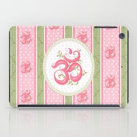 shabby chic iPad Cases featuring Shabby Chic Om by Genie Wilson