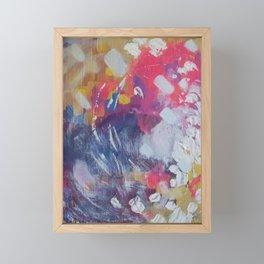 Brick Road Framed Mini Art Print